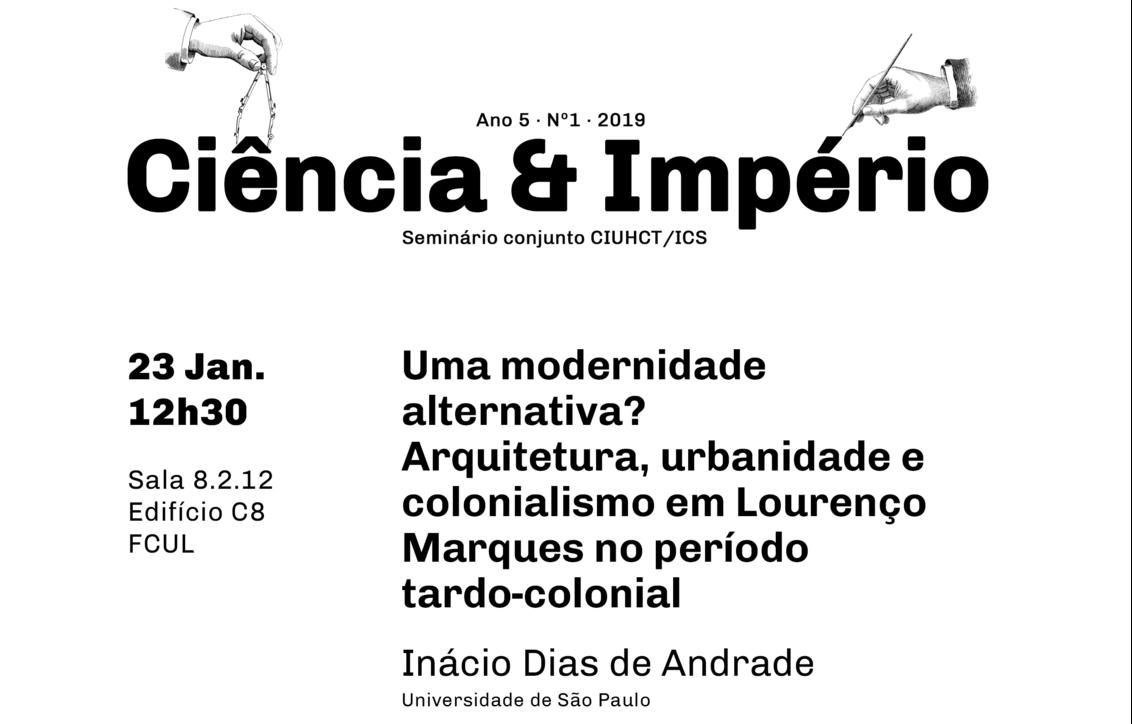 Uma modernidade alternativa? Inácio Dias de Andrade no Ciência e Império