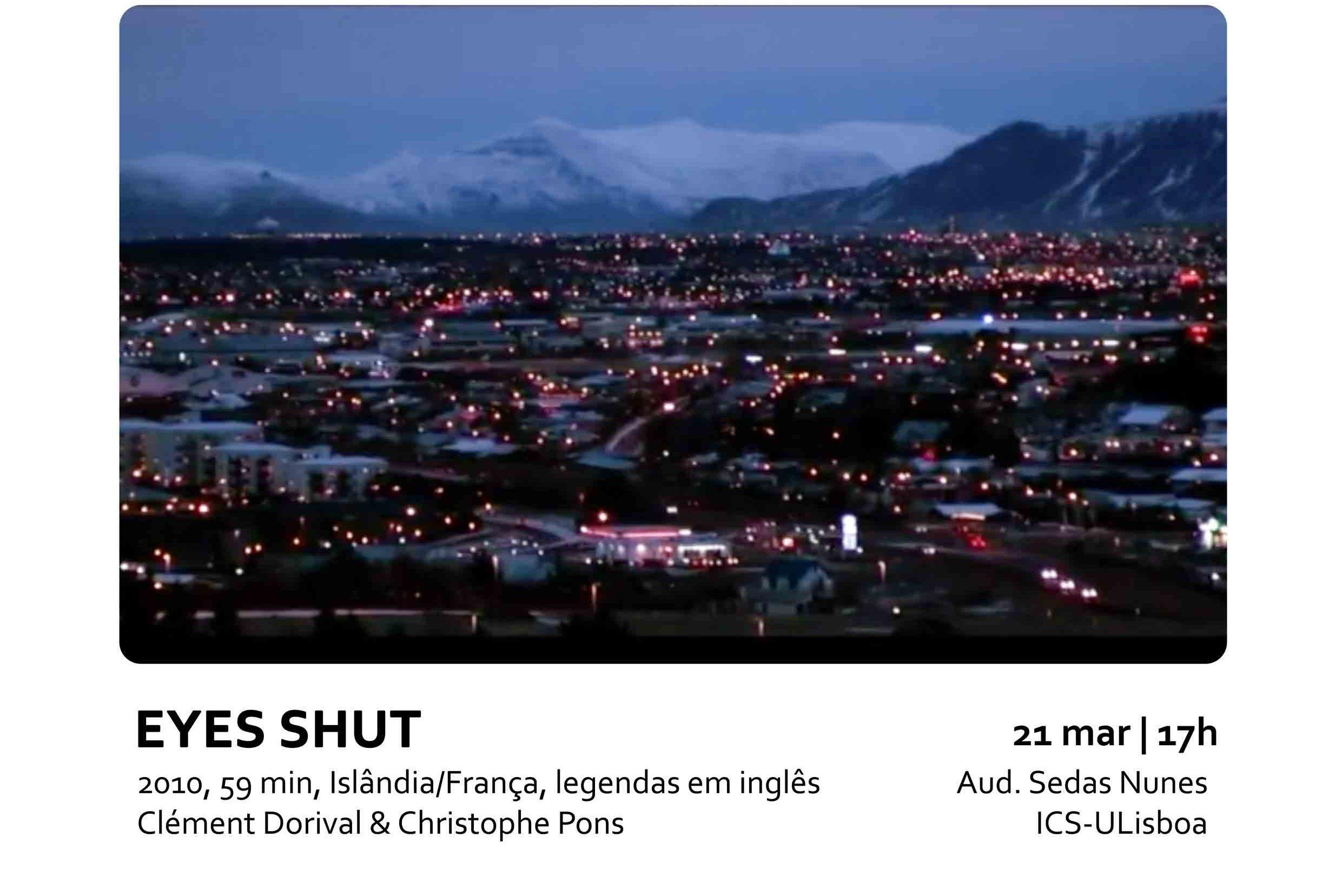 Eyes Shut: Ciências Sociais e Audiovisual