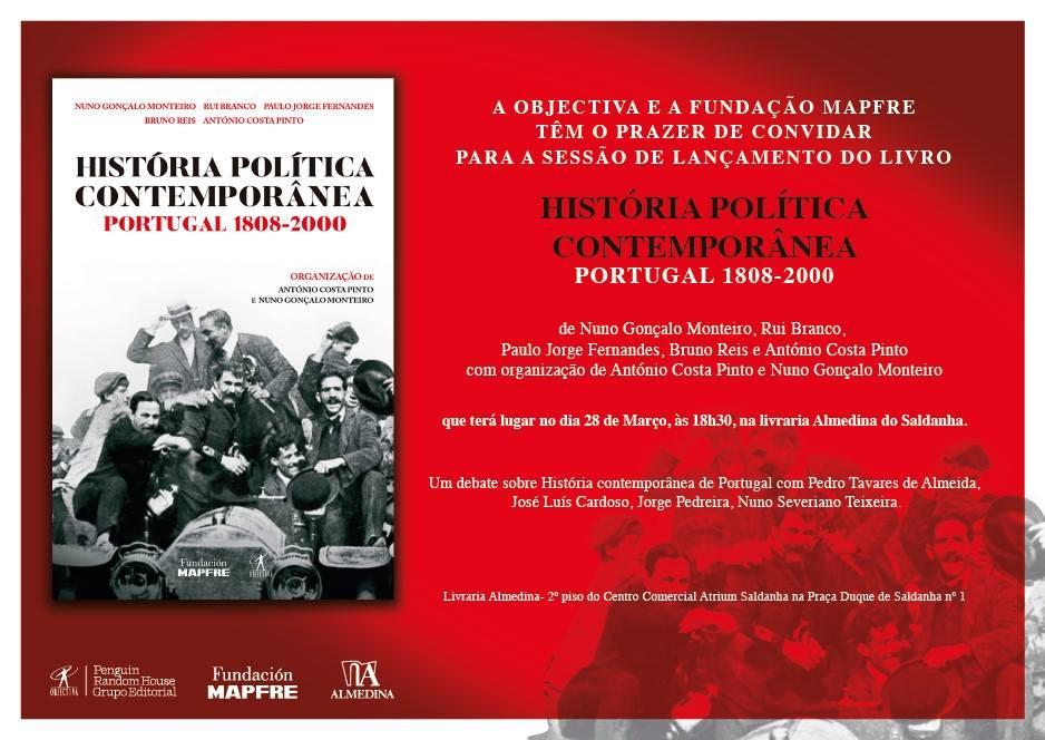 História Política Contemporânea. Portugal 1808-2000