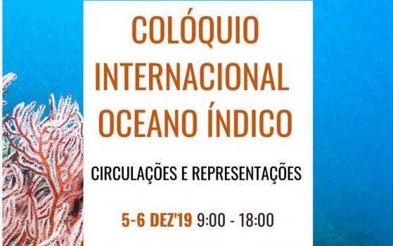 Colóquio Internacional Oceano Índico: Circulações e Representações