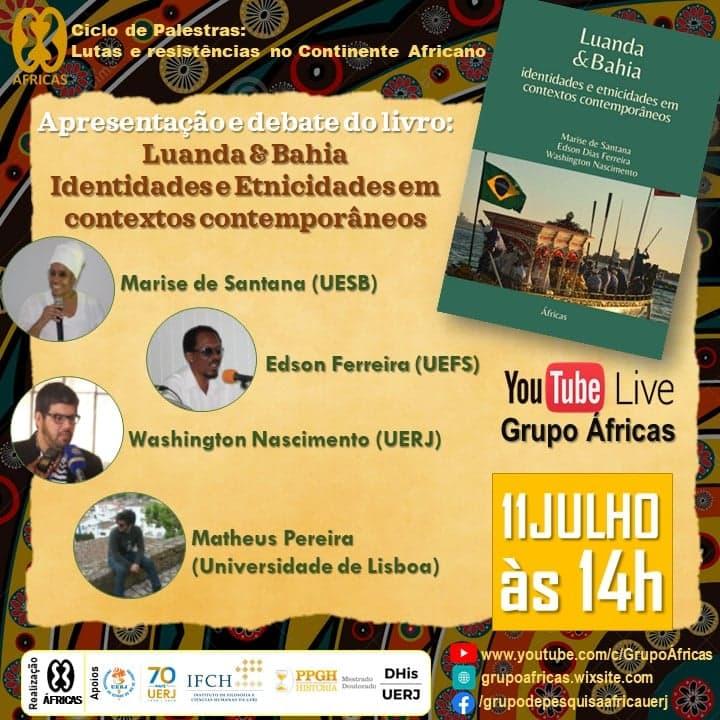 Luanda & Bahia. Identidades e Etnicidades em contextos contemporâneos